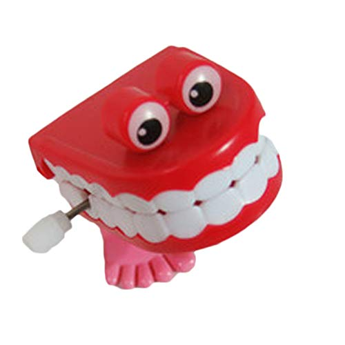 (Classic Toys Wind Up Toys - 1 Pc Toys Wholesale on The Chain Jumped Four Paragraph Styles Teeth Random Friends juguetes 1)