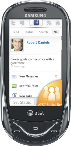 Samsung Sunburst A697 Phone - Touch Cingular Phone Screen