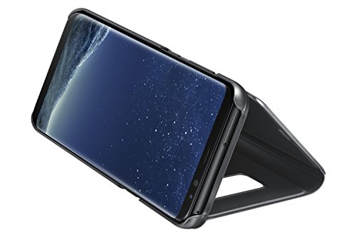 Samsung EF-ZG955CBEGUS Galaxy S8+ S-View Flip Cover with kickstand, Black by Samsung (Image #3)