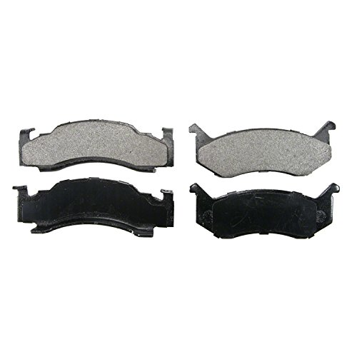 Wagner QuickStop ZX269 Semi-Metallic Disc Pad Set, Front Dodge Ramcharger Brake Pad