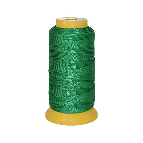 4 Strands 0.25mm 700m High Tenacity Polyester Sewing Thread for DIY Beaded and Woven Bracelet Color (17#)