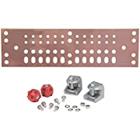 Andrew UGBKIT Universal Ground Bar Kit with Solid Copper BussBar Pre-Drilled for Grounding and Power Distribution Equipment