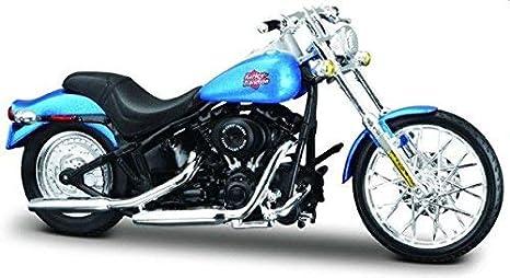 Harley Night Train >> Amazon Com Maisto Harley Davidson Night Train Fxstb 2002 Diecast