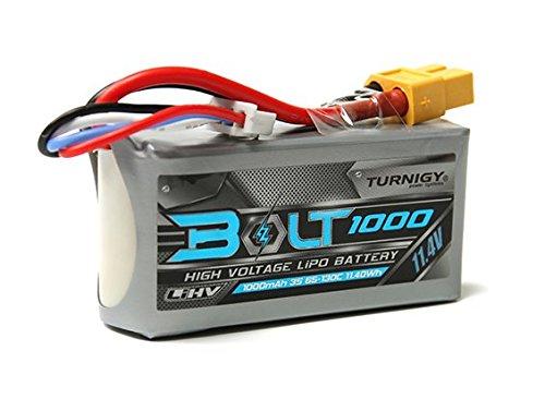 Turnigy Bolt 1000mAh 3S 11.4V 65~130C High Voltage Lipoly Pack (LiHV)   B077VLG182