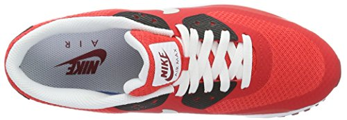 Nike Air Max 90 Ultra Essential, Chaussures de running entrainement homme, Rojo (Rojo (action red/pure platinum-gym red-black)), 40.5 EU