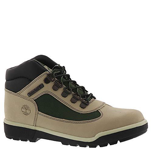 (Timberland Kids Unisex Fabric/Leather Field Boot (Big Kid) Faded Sand 5.5 M US Big Kid)