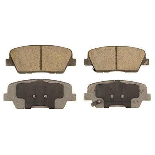 - Wagner ThermoQuiet QC1284 Ceramic Disc Pad Set, Rear