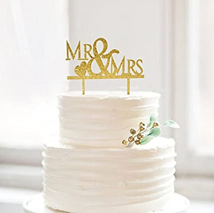 Amazoncom Mr Mrs With Last Nme Bride And Groom Music Wedding Cake