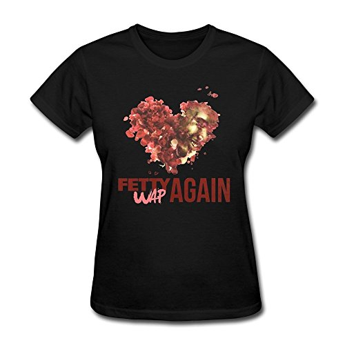 SUAMDAN Women's Fetty Wap Again T Shirt