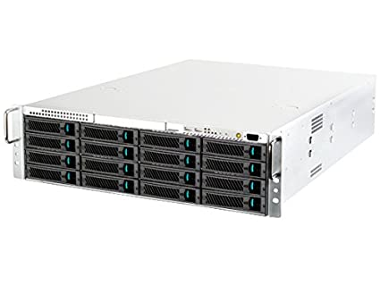 Silverstone Tek 3U 16-Bay 3 5-Inch Hot-Swap Rackmount Storage Server  Chassis Cases RM316