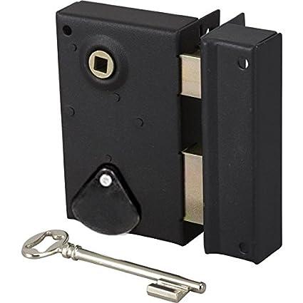 Bricard – Cerradura de superficie con cerradero vertical, apertura ...