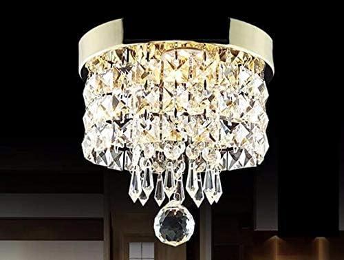 Plafón Lámpara Techo Cristal,LED Lámpara de Techo,Moderna LED Luz ...