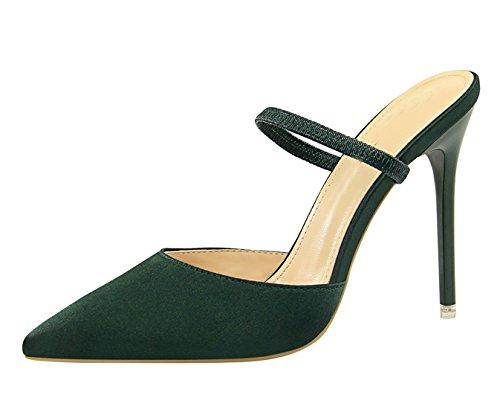 Escarpins 3 DS86 Green 36 pour MiyooparkUK Femme Vert Miyoopark 5 qaZUn