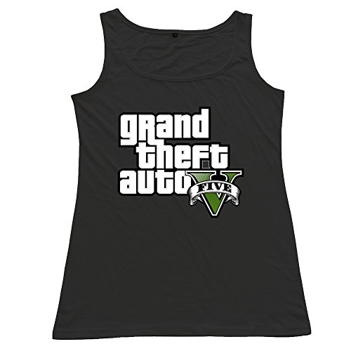 Price comparison product image ZhiXiong Womens Short Sleeve Grand Theft Auto V Tank Top T Shirts