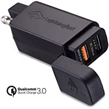 SAE To USB Adapter Motorcycle - Quick Disconnect Plug - Quick Charge 3.0 - Dual USB Ports To Charge 2 Devices - Powers Cell Phones, Tablets, GPS - Keep Connected While You Ride - 2 Year Guarantee