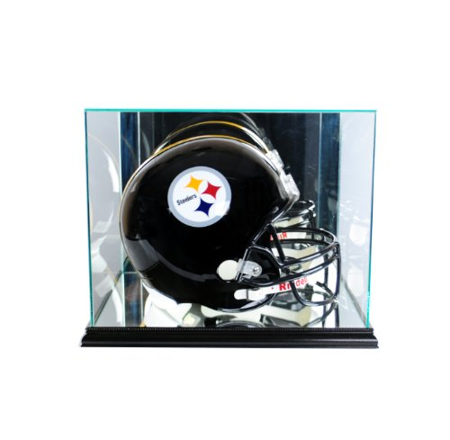 Perfect Cases NFL Rectangle Football Helmet Glass Display Case, -