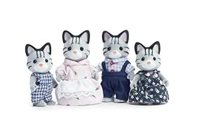 Calico Critters Fisher Cat Family by International Playthings