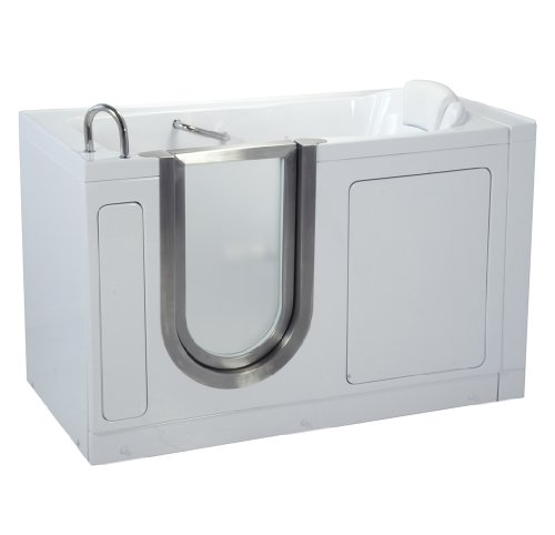 Ella Deluxe Soaking Acrylic Walk In Bath (03057), 80 Sec....