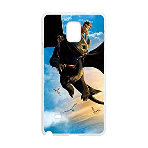 Happy Black bat and man Cell Phone Case for Samsung Galaxy Note4