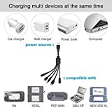 5 in 1 USB Charger Cable Cord for Nintendo DS