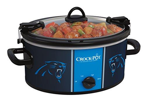 Crock-pot SCCPNFL600-CP Electric Cooking, Silver/Blue/Black
