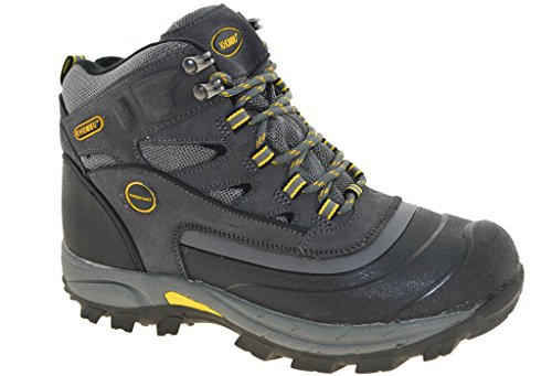 Khombu Men's Flume 2 Hiking Boots - Grey (Best Khombu Waterproof Hiking Boots)