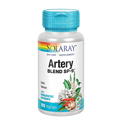 Solaray Artery Blend SP-9 Capsules, 100 Count