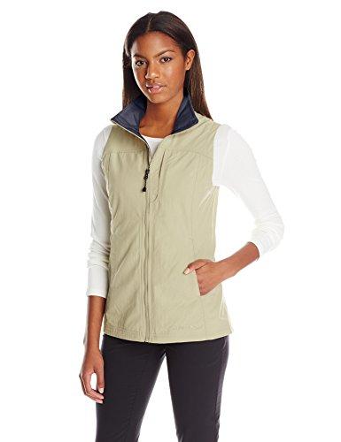 ExOfficio Women's FlyQ Lite Vest, Safari, Small (Ex Officio Womens Vest)