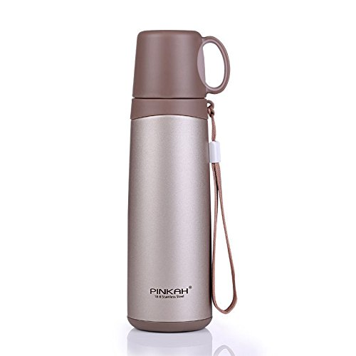 Coffee Stainless Steel Travel Mug Flask Drinking Cup Thermal 16Oz