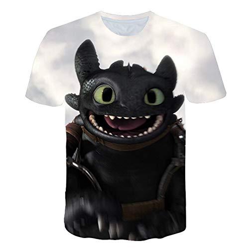 Fashion No 1 HTTYD Shirt Tshirt Cotton Merch Shirts Merchandise Clothing Menino Kids ()