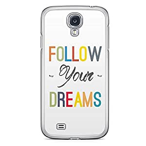 Follow your Heart Samsung Galaxy S4 Transparent Edge Case
