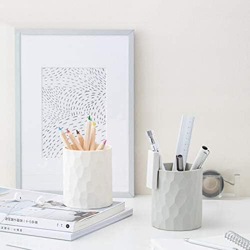 GR5AS Multi-Funktions-Briefpapier Speicherstifthalter Business-Stift Klasse Speicher kreative Mode (Color : White)