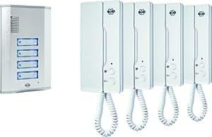 Elro IB64 - Interfono 4 pisos