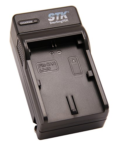 STK LP-E6 Battery Charger for Canon EOS 5D Mark II III and IV, 70D, 5Ds, 6D, 5Ds, 80D, 7D and 7D Mark II, 60D Cameras, LP-E6 Battery, LC-E6 Charger