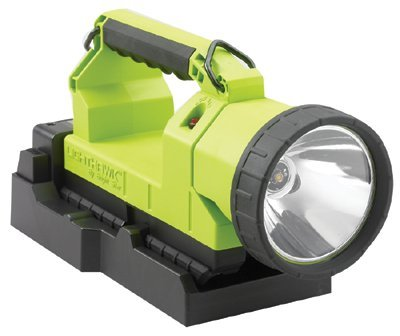 4 Cell LED Lantern w/ 120V AC Charger (High Vis Green) by Brightstar