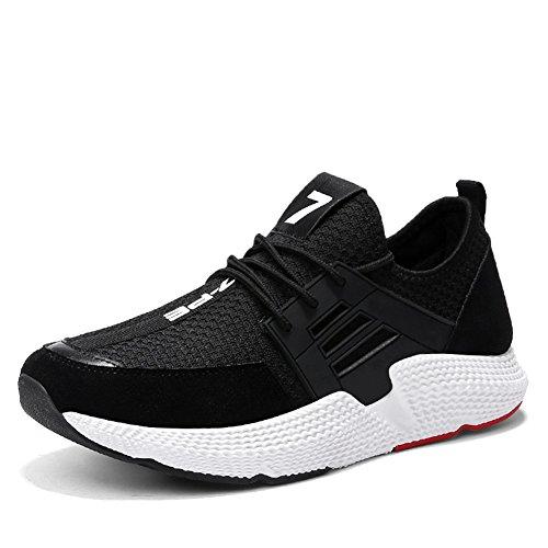 Rouge Course Tricot Chaussures de Noir Automne Pour Chaussures Confort Chaussures Athlétique Hommes Gris Athlétique Black Extérieur Chaussures Casual Printemps MMM wtqxPanA