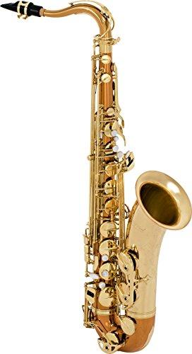 Selmer STS280 La Voix II Tenor Saxophon-Outfit Kupferkörper mit gelber Messingklingel und -schlüsseln