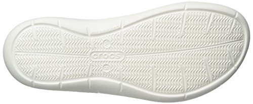 Crocs Femmes Swiftwater Graphique Sandale Gris Diamant / Blanc
