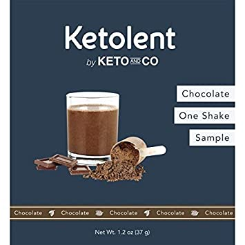 Amazon Sated Keto Meal Shake Chocolate Ketolent One Meal