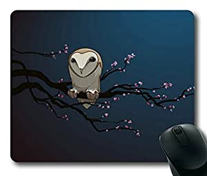 Owl On The Tree Rectangle mouse pad Your Perfect Choice