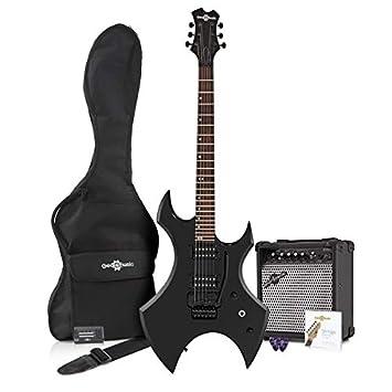 Paquete de Guitarra Eléctrica Harlem X + Amplificador de 15 W Negro: Amazon.es: Instrumentos musicales