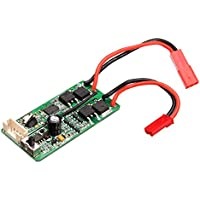 New SUBOTECH 1/24 Receiver Circuit Board DZDB04 Car Part For BG1510ABCD By KTOY