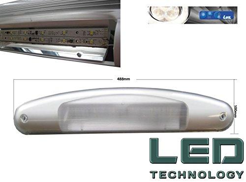 Plafoniere Da Esterno Per Camper : Plafoniera per esterno veranda camper ultra luminosa a led made in