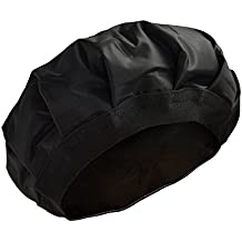 locisne Cordless Heated Conditioning Heat Cap Heated Gel Cap Hair Therapy Wrap Thermal Spa Hair Steamer Gel Cap For Oil or Conditioner for Deep Penetrating Hair and Scalp Treatments Black