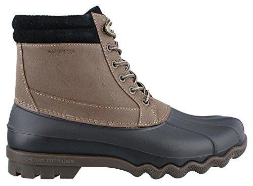 Sperry Top-Sider Men's Brewster WP Brown/Black Boot 10 Men US