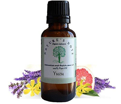 All Natural Nature's Note Organics Fragrance Oils (Yuzu, 1 oz.)
