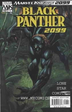 Marvel Knights 2099: Black Panther #1