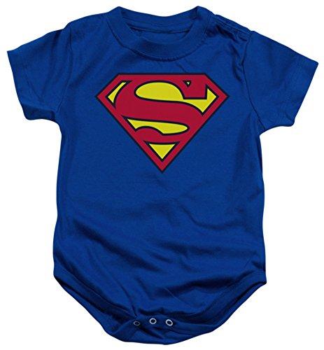 Infant: Superman – Classic Logo Infant Onesie Size 6 Mos