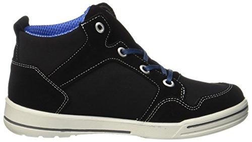Ricosta Unisex-Kinder Madoc-S Hohe Sneaker Schwarz