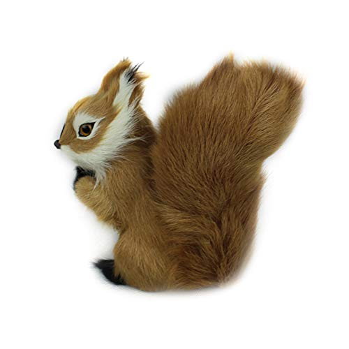 - Unee1 1pc Mini Stuffed Toys Simulation Squirrel Stuffed Plush Lovely Toy Animal Kids Toy Decorations Birthday Gift for Children 7x5cm